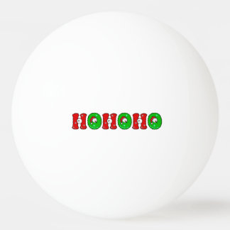 HOHOHO Santa Claus Laugh SnowMan Cute Christmas Ping-Pong Ball