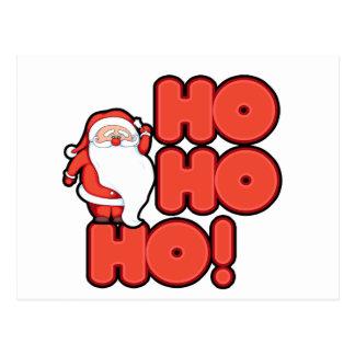 HOHOHO Santa Claus Postcards