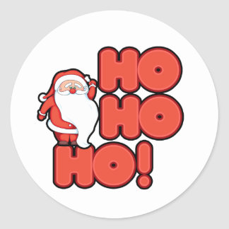 HOHOHO Santa Claus Sticker