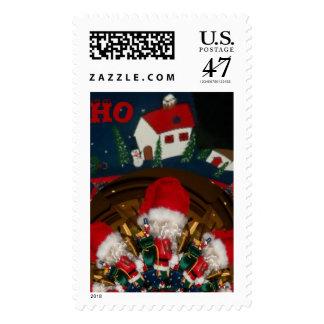 HoHoHo Santa Special Merry Christmas Postage Stamp