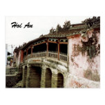 hoi an bridge postcards