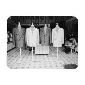 Hoi An Vietnam, Custom Suits to go Rectangular Photo Magnet