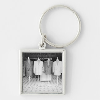 Hoi An Vietnam, Custom Suits to go Silver-Colored Square Keychain