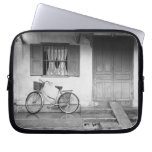 Hoi An Vietnam, House with Bicycle Laptop Computer Sleeve