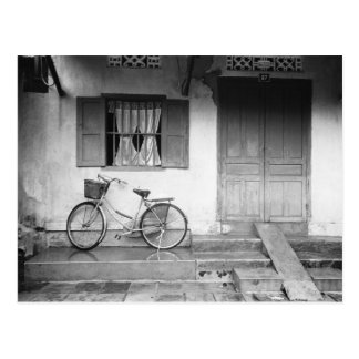 Hoi An Vietnam, House with Bicycle Postcard