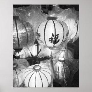 Hoi An Vietnam Lanterns Poster