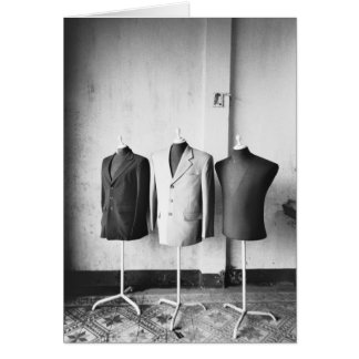 Hoi An Vietnam, Suit jackets made to order! Card