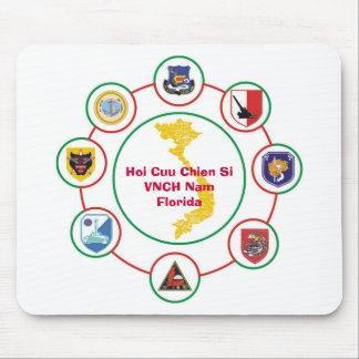Hoi Cuu Chien Si VNCH Nam Florida Mouse Pad