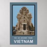 Hoi una ciudad antigua Vietnam Póster