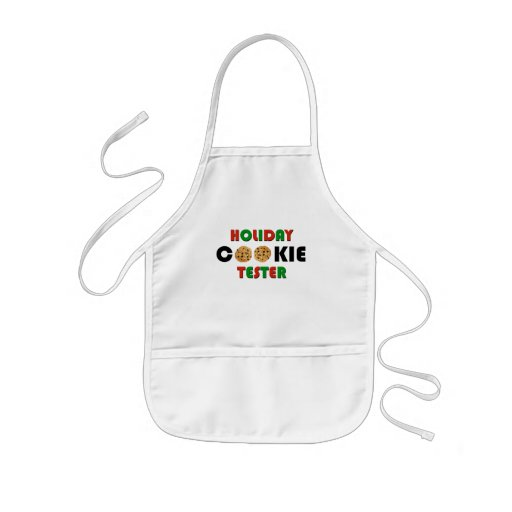 Hoilday Cookie Tester Apron (kids)
