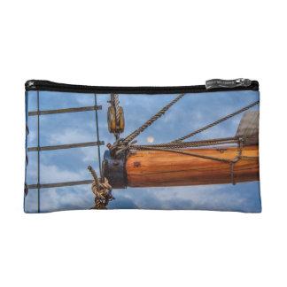 Hoist and Jib Sailing Boat Makeup Bags