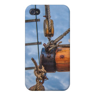 Hoist and Jib Sailing Boat Cases For iPhone 4