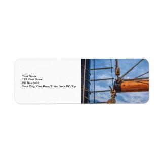 Hoist and Jib Sailing Boat Labels