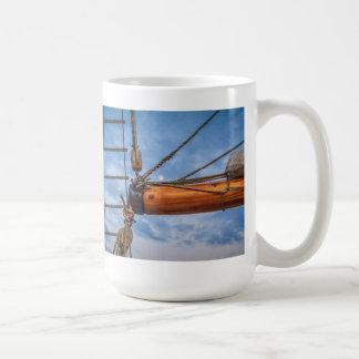 Hoist and Jib Sailing Boat Mug