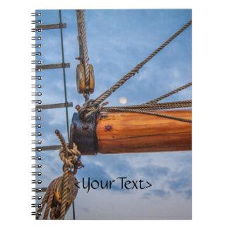Hoist and Jib Sailing Boat Note Books