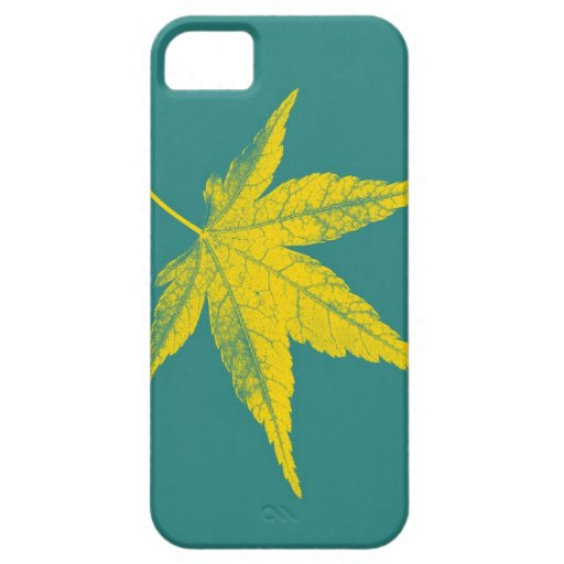 Hoja 27 del arte iPhone 5 Case-Mate carcasa
