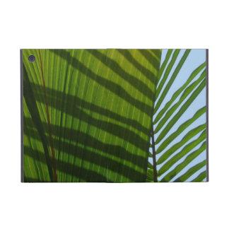 Hoja abstracta del verde de la fotografía iPad mini protectores
