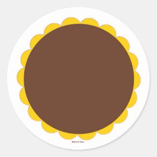 Hoja agria del pegatina del chocolate de Martzkin