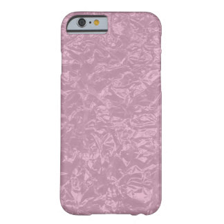 hoja arrugada rosa funda para iPhone 6 barely there