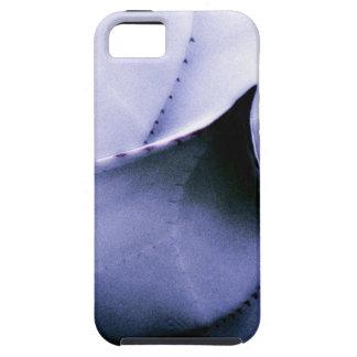 Hoja azul iPhone 5 carcasa