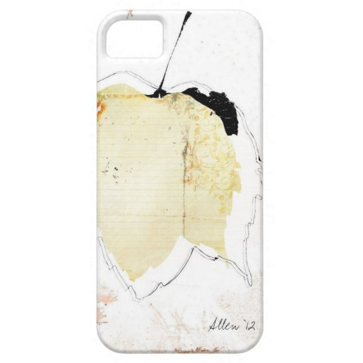 hoja caida iPhone 5 fundas