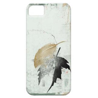 hoja caida iPhone 5 protector