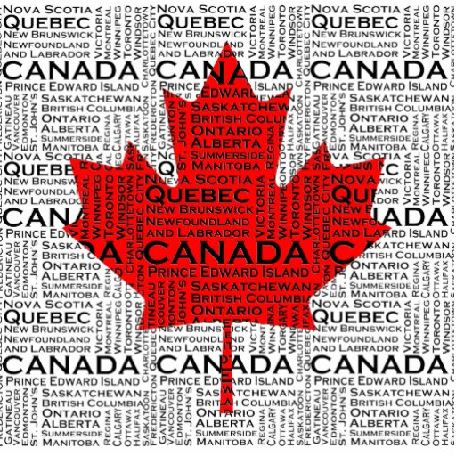 Hoja canadiense con el fondo de la ciudad y de los fotoescultura vertical