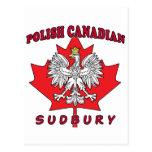 Hoja canadiense polaca de Sudbury Postales
