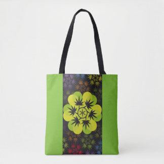 Hoja colores arcoiris vectorial de planta. Plant. Tote Bag