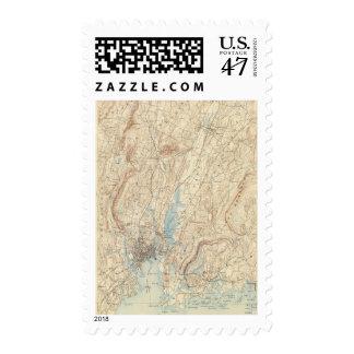 Hoja de 26 New Haven Timbre Postal