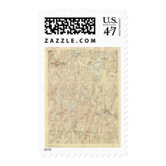 Hoja de 6 Brookfield Sellos Postales
