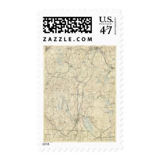 Hoja de 7 Webster Sello Postal