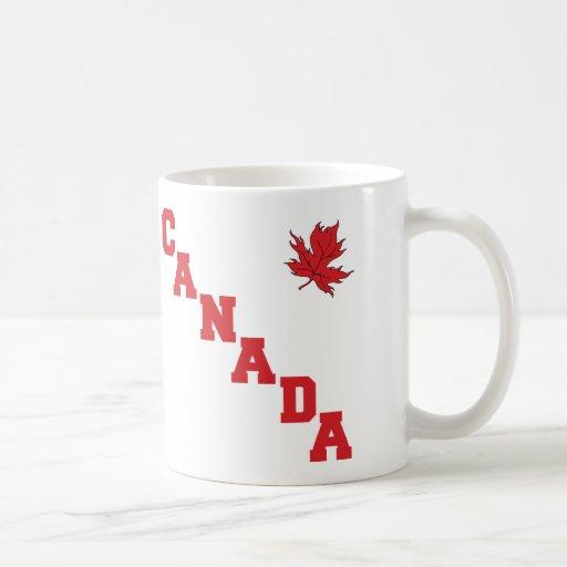 Hoja de arce Canadá Taza De Café