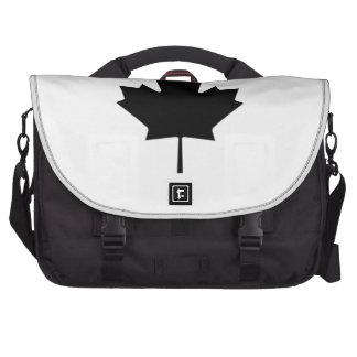 Hoja de arce canadiense bolsas para portatil