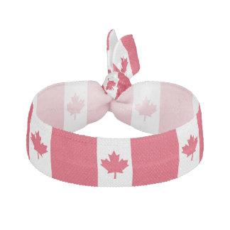 Hoja de arce canadiense Canadá blanco rojo de la Banda Para El Cabello