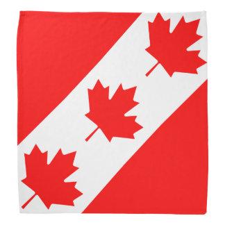 Hoja de arce canadiense del día del pañuelo el   C Bandanas