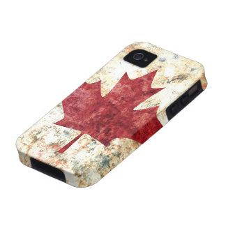 Hoja de arce canadiense vibe iPhone 4 funda