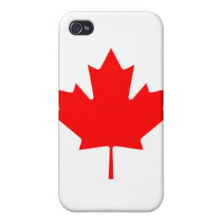Hoja de arce canadiense iPhone 4 cárcasa