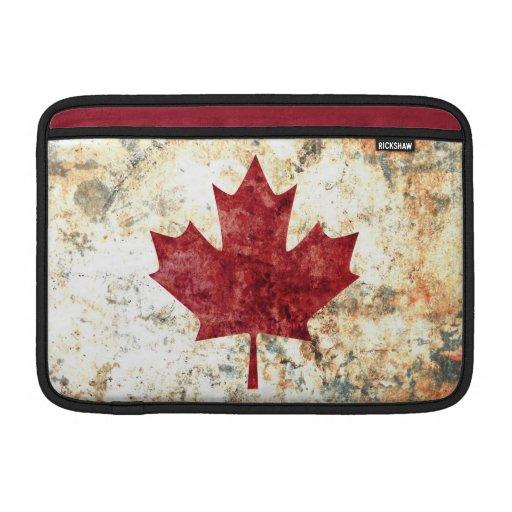 Hoja de arce canadiense funda macbook air