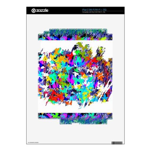 Hoja de arce canadiense orgullosa: Un trabajo artí Calcomanía Para El iPad 2