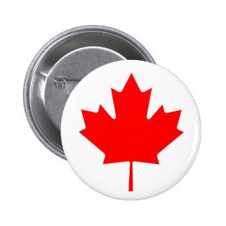 Hoja de arce canadiense pin