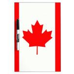 Hoja de arce canadiense pizarras blancas de calidad