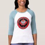 Hoja de arce canadiense polaca Babcia Camisetas