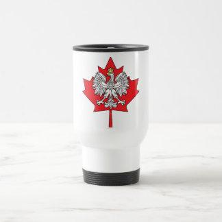 Hoja de arce canadiense polaca taza térmica