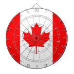 Hoja de arce canadiense tablero dardos