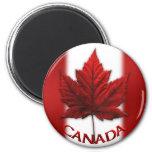 Hoja de arce de Canadá del imán del refrigerador