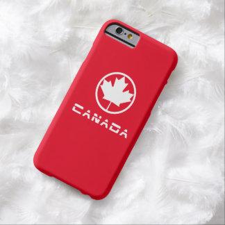 Hoja de arce de Canadá Funda Barely There iPhone 6