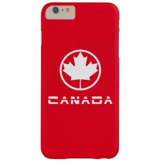 Hoja de arce de Canadá Funda Barely There iPhone 6 Plus