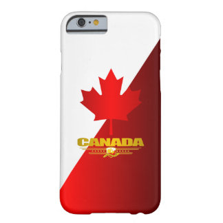Hoja de arce de Canadá Funda Para iPhone 6 Barely There