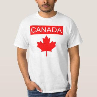 Hoja de arce de Canadá Playera